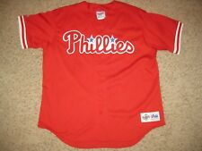 NEW Philadelphia Phillies Diamond Majestic MLB Baseball Jersey XL Sewn Authentic