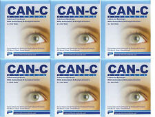 6 pack Can-C Carnosine Eye Drops  (12 x 5ml vials)