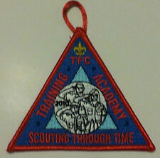 TFC, Training Academy, Scouting Through Time, BSA, Boy Scouts of America Patch