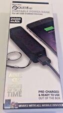 External Battery Pack Aduro POWERUP 2000 mAh Backup  Portable Power Bank Charger