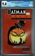 CGC 9.8 BATMAN THE LONG HALLOWEEN #1 WHITE PAGES 1ST APPEARANCE ALBERTO FALCONE