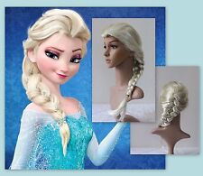 Frozen Movie Queen ELSA Halloween Cosplay Wig Blonde Harajuku Costume H160