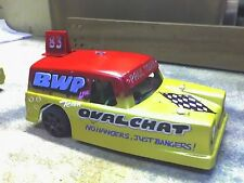 Kamtec 1/12 Three Wheeler Reliant Regal Van car & electrics Banger Racing Oval