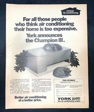 Life Magazine Ad YORK AIR CONDITIONING 1971 Ad