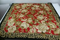 Berkshire Floral Square Polyester Scarf Size approx.34 x 34 Inches