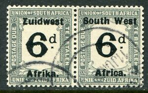 South West Africa postage due 1923-26 6d SG D.20 used (cat. £42)