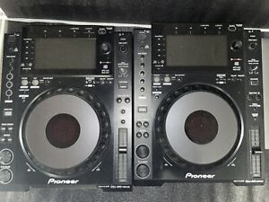 2er Paket: Pioneer CDJ 900 NXS Nexus DJ Player USB CD MP3 Rekordbox MIDI