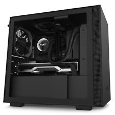 NZXT H210 Black Mini-ITX Case w/Tempered Glass Window 2x 120mm Fans