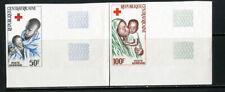 Central Africa Stamps # C33-4 XF OG LH Imperf