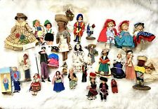 Lot of Dolls from All Over The World- Grandmother's Collection- 27 Total Dolls