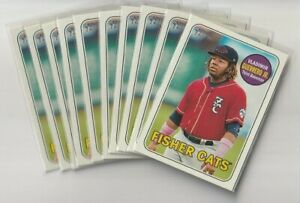 (10) Card Lot 2018 Topps Heritage Minor League Pick Your Player