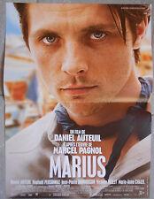 Affiche MARIUS Daniel Auteuil RAPHAEL PERSONNAZ Marcel Pagnol 40x60cm