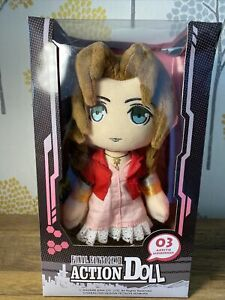 Official Final Fantasy VII 7 Remake - Aerith Action Doll Plush Square Enix Toy