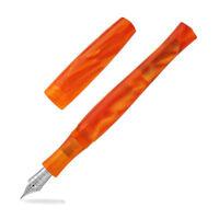 Penbbs 323 Acrylic Fountain Pen - Orange Goddess, Fine Point PENBBS-323-61SF