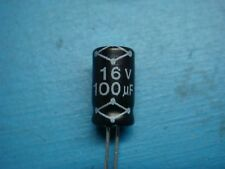 Pack of 20 HQ 100uF//16V Aluminum Radial Electrolytic Decoupling Capacitors