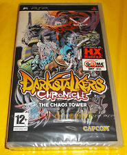 DARKSTALKERS CHRONICLE THE CHAOS TOWER Psp Versione Italiana 1ª Ed ○○○ NUOVO