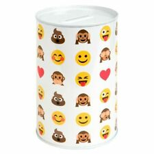 Emoticon Kids Money Box for Boys&Girls,Sealed Secured Dimensions:15x10cm dia
