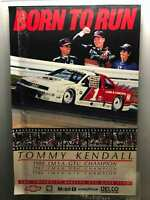 Tommy Kendall poster: Born to Run vintage 1988 NASCAR poster