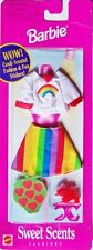 Barbie Sweet Scents: RAINBOW OUTFIT +Heart Stickers #68644 (1997) New, Sealed!