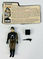 Vintage Hasbro GI Joe ARAH 1983 Major Bludd Complete W/File Card