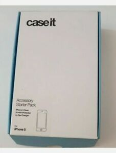 Case IT iPhone 5 - Starter Pack - Case, Screen Protector & In Car Charger