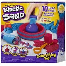 Kinetic Sand Playset with 2 lb. of Sand, 10 Tools and Molds. Kids Sandisfying