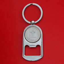 US 2008 New Mexico State Quarter BU Unc Coin Key Chain Ring Bottle Opener NEW