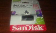 SANDISK ULTRA DUAL USB DRIVE 2.0- MICRO USB 32GB