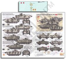ECHELON FD D356213, 1/35 Decals for Soviet AFVs (Afghanistan War) Pt 2: BRDM-2,