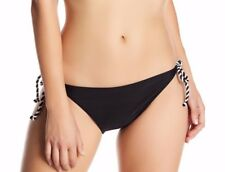 NEW TED BAKER LONDON 'Bessty' Twisted Rope Bikini Bottoms SZ 2 (S) Black $55
