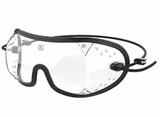 Kroops DZII Black Skydiving Sport Goggle with Clear Lens
