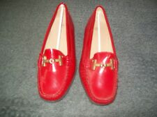 Womens Size 37 Red  Patent Leather Shoe