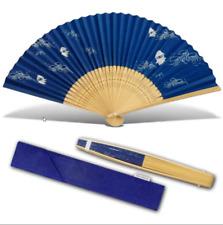 Club Nintendo Blooper Blue Folding Fan - NEW, Unused