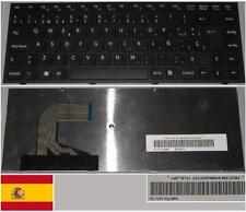 Qwerty Keyboard Spanish SONY VAIO VPC-S AEGD3P00010 9Z.N3VSQ.00S 148778761 Black