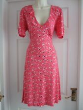 E Womens Size 12 Dress LADIES SUMMER SMART WORK EVENING STRETCH FRILLY WINTER