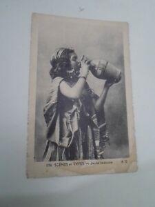 Scenes et Types - Jeune Bedouine (A22) Vintage Photo-Africaines Postcard  §B2723