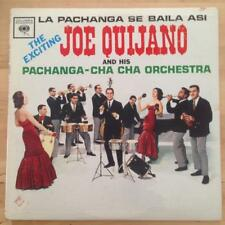 JOE QUIJANO LP La Pachanga Se Baila Asi Columbia 6-Eye Mono HEAR