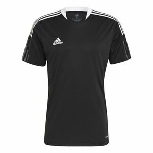 Adidas Football Soccer Tiro 21 Kids Training Short Sleeve SS Jersey Shirt