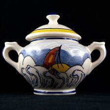 SUCRIER/POT Faïence HB Henriot Quimper PHILIPPE LALYS, sevellec/hr/ceramic 20th