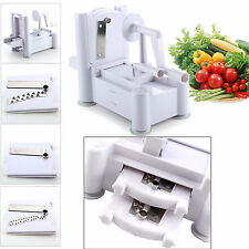 Spiral Slicer Chopper Cutter Spiralizer Shred for Fruit Vegetable Twister Peeler