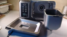 BreadMan Tr900S Brushed Stainless Steel Professional Bread Maker Machine Silver