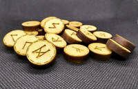 Viking Rune Set, Elder Futhark Runes, Pocket Rune Set