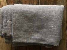 """1 Piece Pottery Barn Kids Bright Linen 44 x 63"""" BLACKOUT Panel Speckled Gray NWT"""