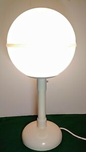 Vintage Mid Century Olympia Lunar I Globe Table Lamp Indoor Outdoor