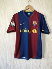 BARCELONA 2006 2007 HOME FOOTBALL SHIRT SOCCER JERSEY NIKE 146980-426