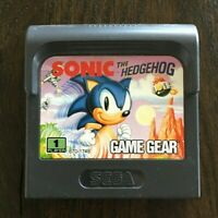 Sonic the Hedgehog (Sega Game Gear, 1991) Game Cartridge Only, No Box or Manual