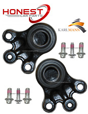 For PEUGEOT 407 2004> FRONT SUSPENSION WISHBONE ARM BALLJOINT SEATS X2 & BOLTS