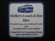 HEFFER'S COACH & BUS HIRE 49 SEATER LUXURY 19 AND 28 SEATER 069 722702 COASTER