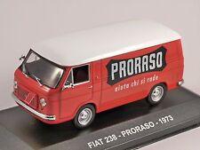 1973 FIAT 238 Van - Proraso - 1/43 scale model by Altaya