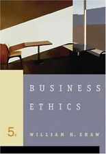 Business Ethics - New Book Shaw, William H.
